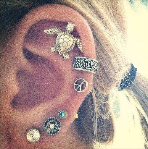 oorbellen met edenstenen